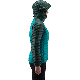 Haglöfs W's Essens Mimic Hood Jacket Alpine Green/Mineral